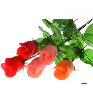 Květiny z marcipánu